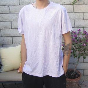 Banana Republic Light Pink T-shirt XL